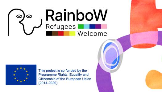 RAINBOW : BIENVENIDA A LAS PERSONAS REFUGIADAS LGBTQI+